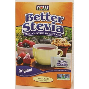 NOW BetterStevia Extract 100 Packets