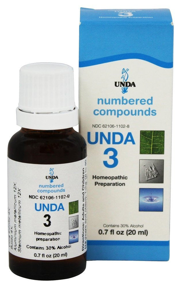 UNDA Numbered Compounds UNDA 3, 20 ML