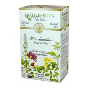 Celebration Herbals Marshmallow Leaf And Root Tea - 24 Tea Bag