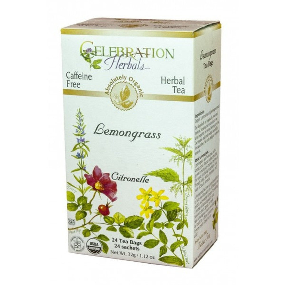 Celebration Herbals Lemongrass 24 Tea Bags