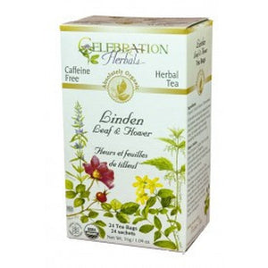Celebration Herbals Linden Flowers Organic 24 Tea Bags