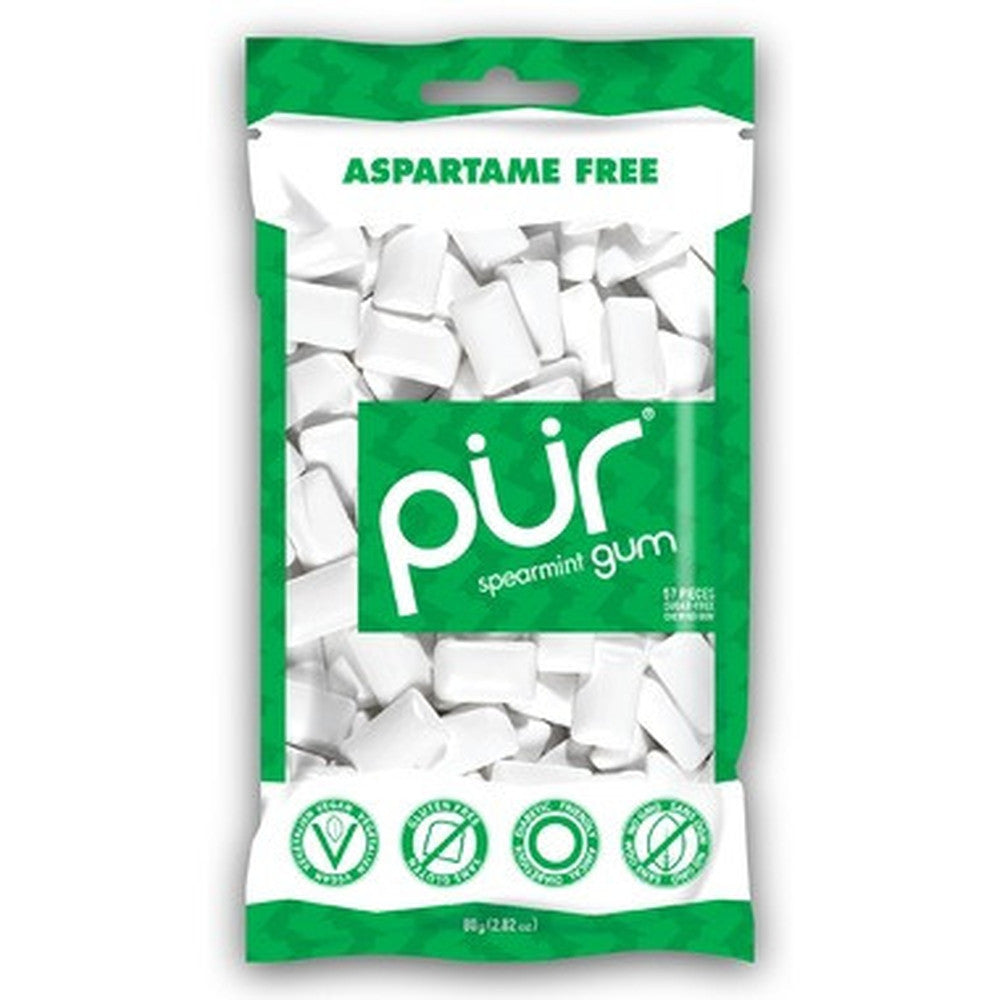PUR Spearmint 80G Bag