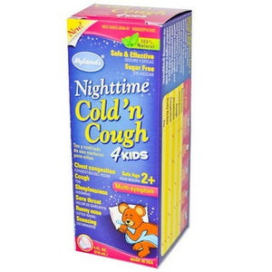 Kids 0-9® Cough & Cold Nighttime Formula Syrup
