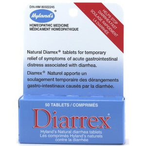Hyland's Homeopathic Diarrex 50 Tabs