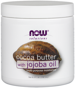 NOW Solutions Cocoa Butter With Jojoba 192ml 6.5OZ