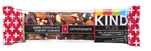 KIND Bars, Kind Plus, Dark Chocolate Cherry Cashew 40G