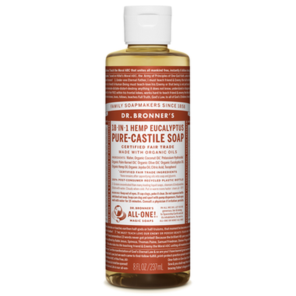 Dr. Bronner's Organic Pure Castile Liquid Soap 236ML