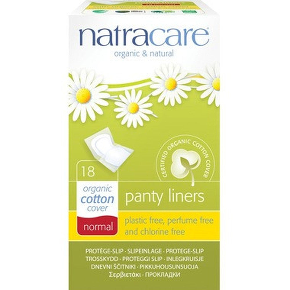 Natracare Organic Panty Liners Normal 18 Count