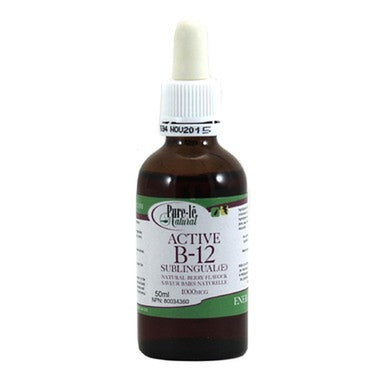 Pure-le Natural Active B-12 sublingual liquid-50ml