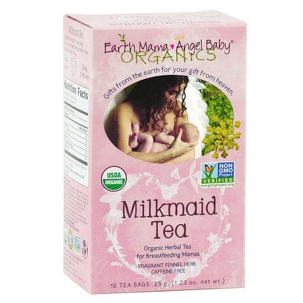 Earth Mama Angel Baby Organic Milkmaid Tea 16 Tea Bags