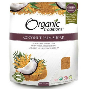 Organic Traditions Coconut Palm Sugar 454G