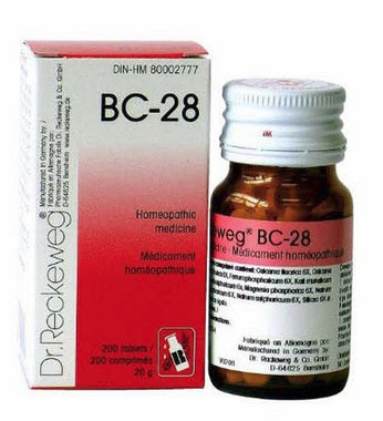 Dr Reckeweg BC28 - 200 Tabs