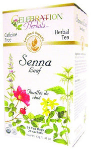 Celebration Herbals Senna Leaf 24 bags