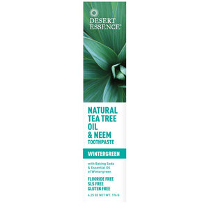 DE Tea Tree Toothpaste w/Neem