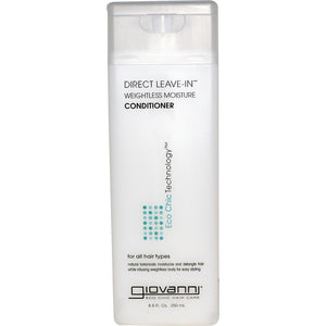 Giovanni, Direct Leave-In Weightless Moisture Conditioner, 250 ML
