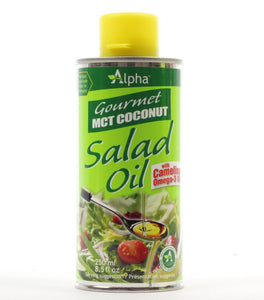 Alpha - Gourmet MCT Coconut Salad Oil