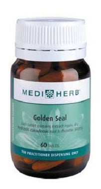 MediHerb Golden Seal 500mg 60 tabs - Available in store only