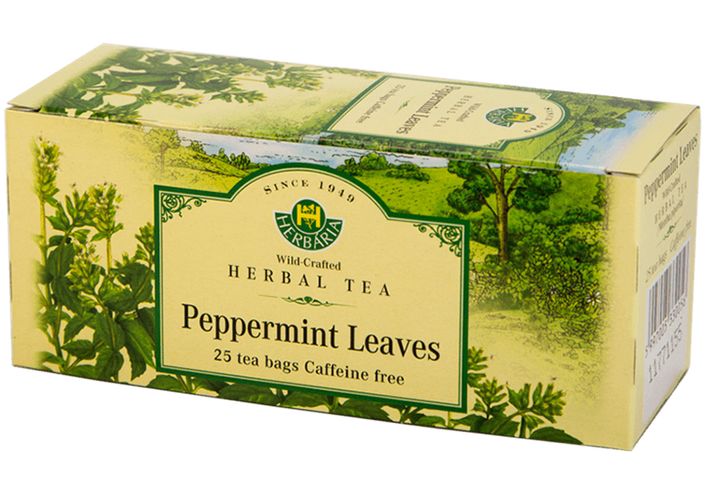 Herbaria Peppermint Tea 25 bag