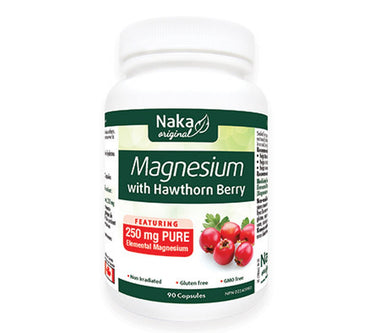 Naka Magnesium With Hawthorn Berry 90 Caps