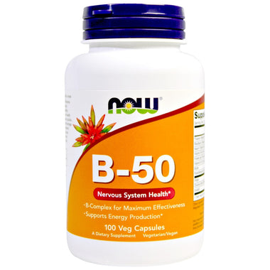 NOW B - 50 Nervous System Health 100 Caps