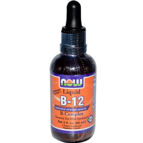 Now Foods, Liquid B-12, B-Complex