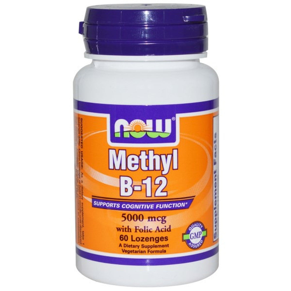 Now Foods, Methyl B-12, 5000 mcg 60 Lozenges
