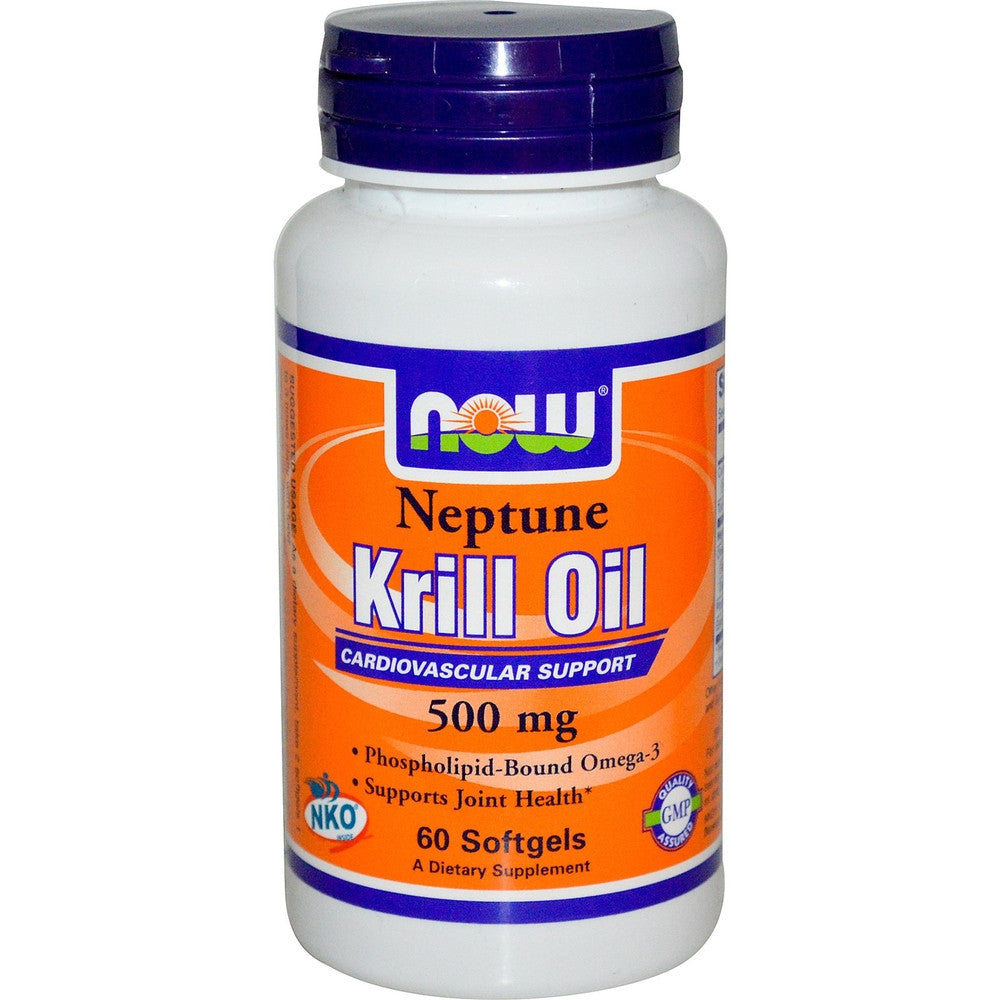 NOW Neptune Krill Oil 500MG 60 Softgels