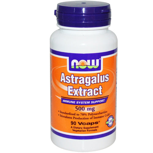 NOW Astragalus Extract 500mg 90 Veg.Caps