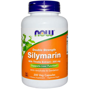 NOW Silymarin 2X 300MG 50 VCaps