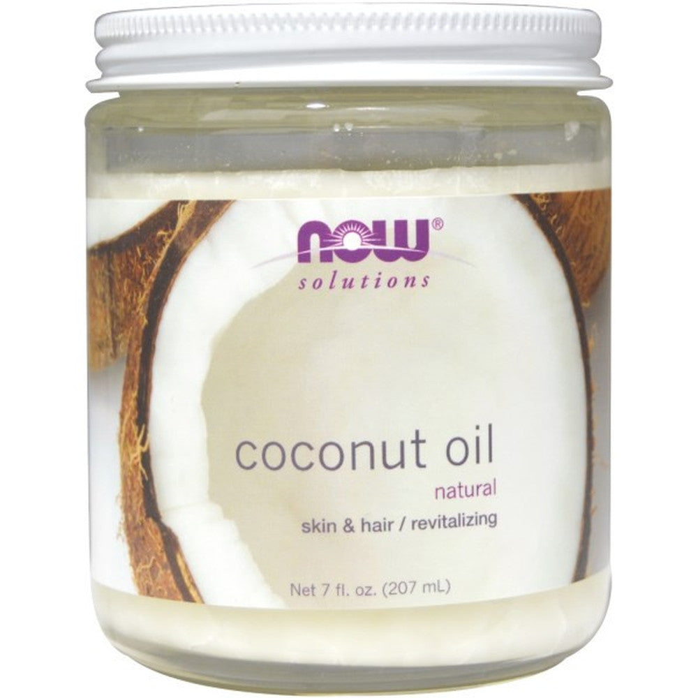 NOW Solutions Coconut Oil For Skin & Hair 207M