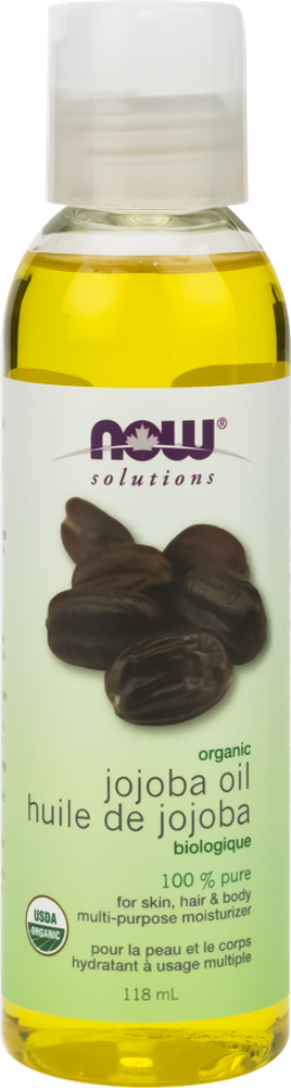 NOW Solutions Organic Jojoba Oil 118ML