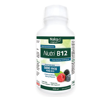 Naka Nutri B12 fast acting sublingual -250ml