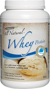 Precision All Natural Whey Protein French Vanilla Creme