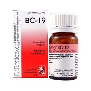 Dr. Reckeweg BC-19, 200 Tabs
