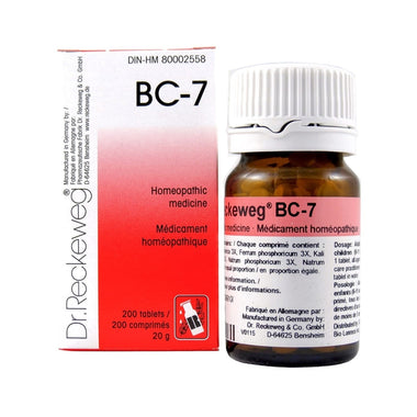 Dr Reckeweg BC7 200 Tabs
