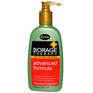 Shikai, Borage Therapy, Advanced Formula Lotion, Fragrance-Free, 238 ML