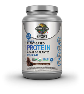 Garden of Life Sport Organic Plant-Based Protein Chocolate 840gms (Free Coconut oil 858ml)