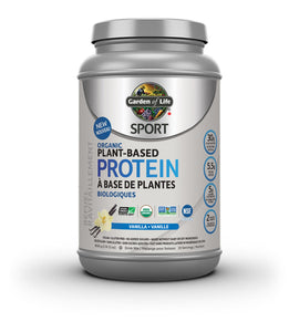 Garden of Life Sport Organic Plant-Based Protein Vanilla 806 gms (Free Cocunut Oil 858ml)