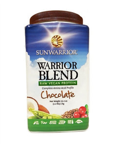 Sunwarrior Warrior Protein Blend Chocolate 750gms
