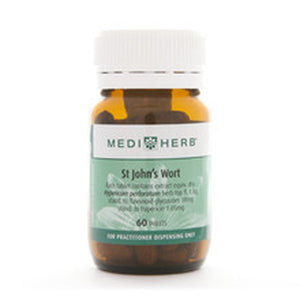 MediHerb St John's Wort 60 Tabs - Available in store only