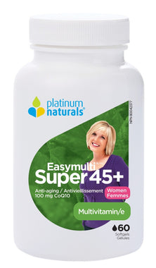 Platinum Multivitamin Super EasyMulti 45+ for Women 60 Caps