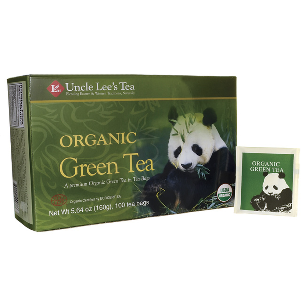Uncle Lee's Organic Green Tea 20 Tea Bags