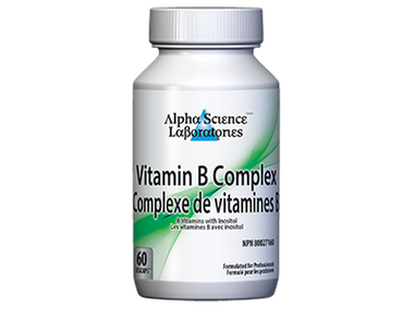 Alpha Science Vitamin B Complex 60 Caps