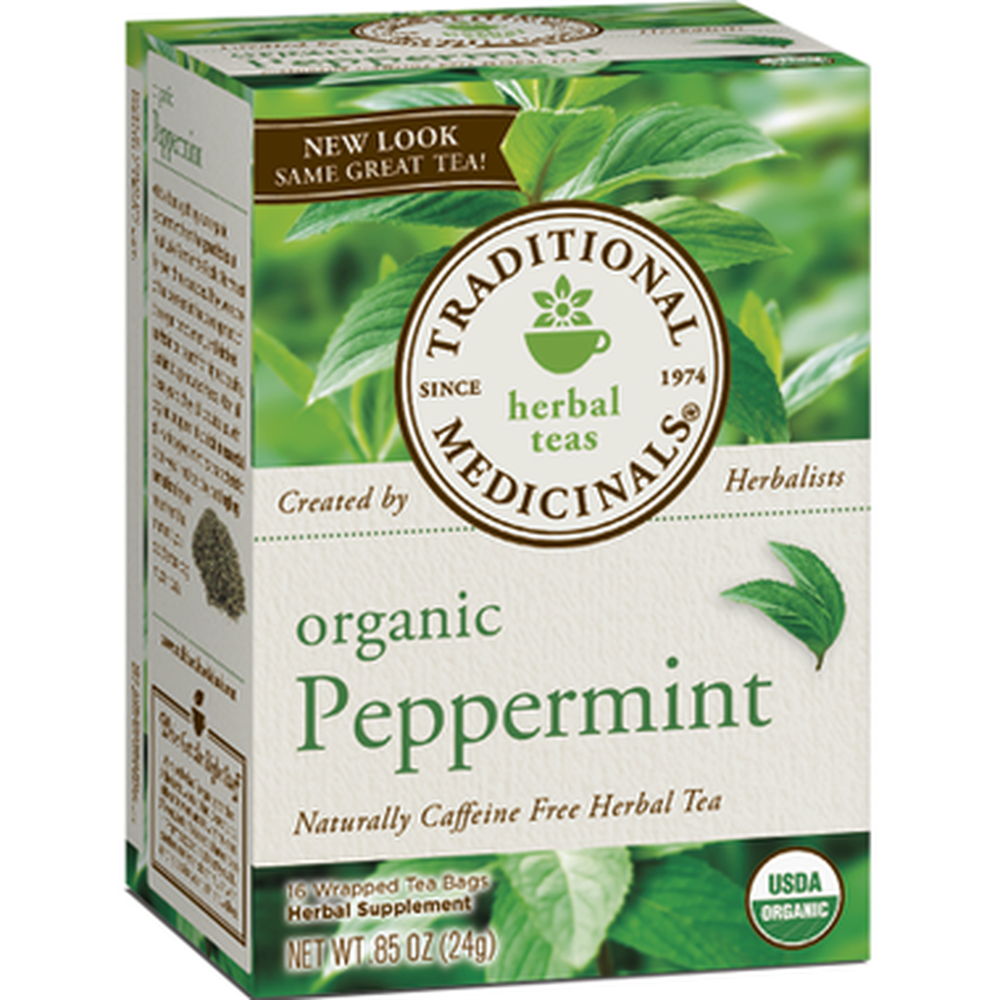 Traditional Medicinals Green Peppermint Tea