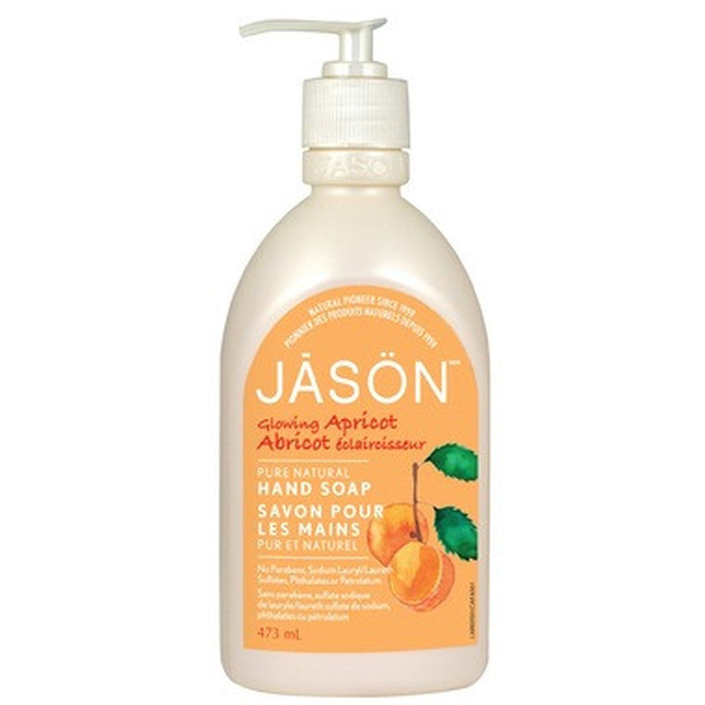 Jason Glowing Apricot Hand Soap 473ML