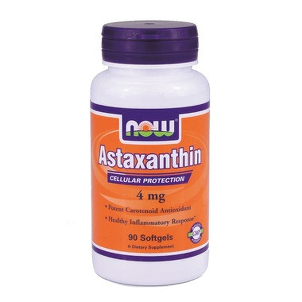 NOW Astaxanthin Cellular Protection 4MG 60 Softgels