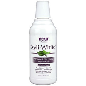 NOW Solutions Xyliwhite Neem & Tea Tree Mouthwash 473 ML