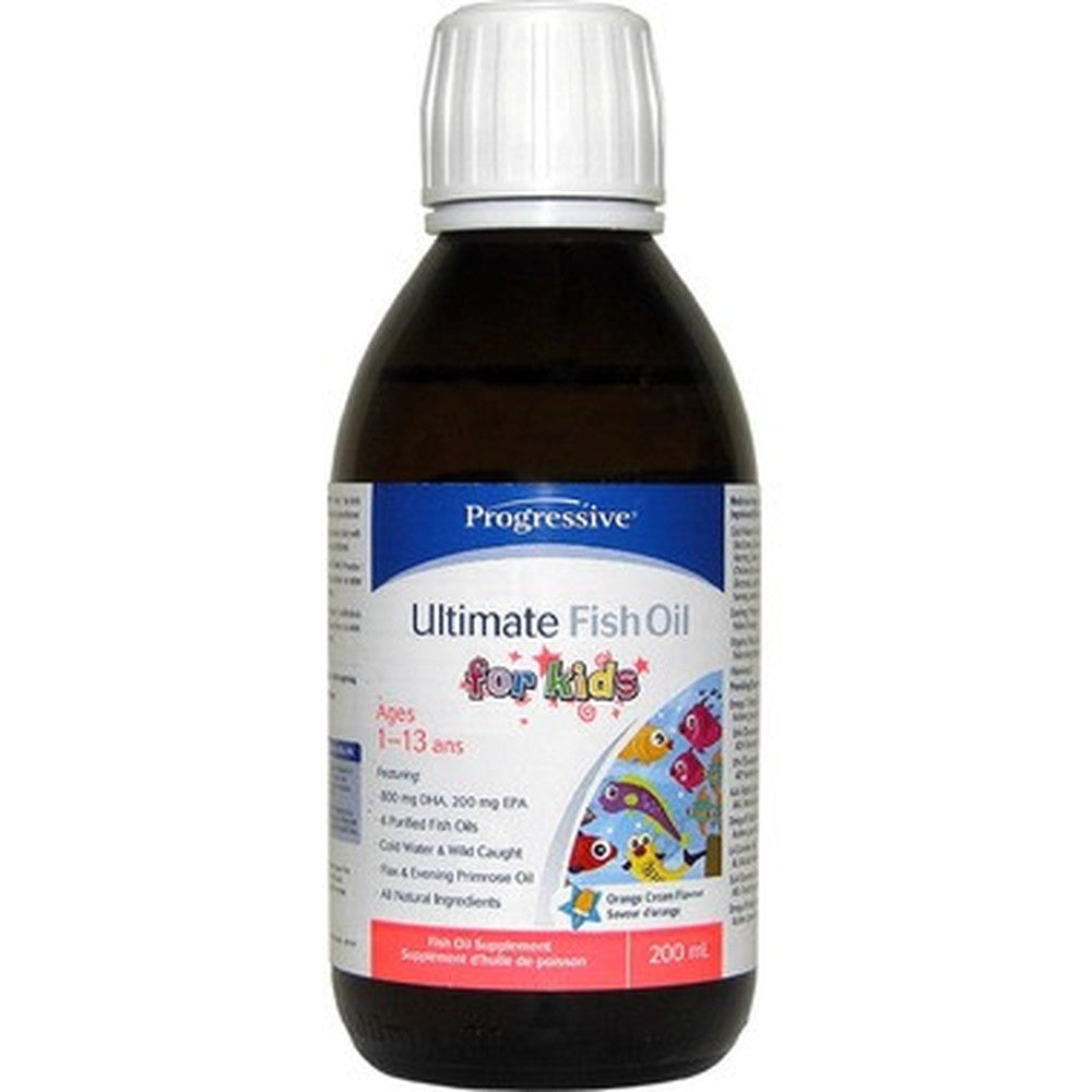 Progressive Ultimate Fish Oil For Kids 200ML