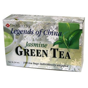 Uncle Lee's Green Tea With Jasmine 100 Tea Bags