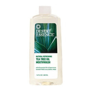 Dessert Essence Tea tree Oil Mouthwash 16Oz